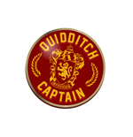 Harry Potter - Quidditch Captain (Distintivo Smaltato)