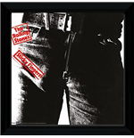 Rolling Stones (The) - Sticky Fingers (Foto In Cornice 30x30 Cm)
