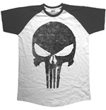 T-shirt Marvel Superheroes Jagged Skull