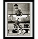 Muhammad Ali - Float (Foto In Cornice 20x15 Cm)