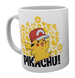 Pokemon - Ash Hat Pikachu (Tazza)