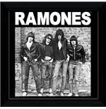 Ramones (The) - Album (Foto In Cornice 30x30 Cm)