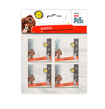 Secret Life Of Pets (The) - Stickers 4 Pz