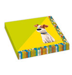 Secret Life Of Pets (The) - 20 Tovaglioli Carta Doppio Velo 33x33 Cm