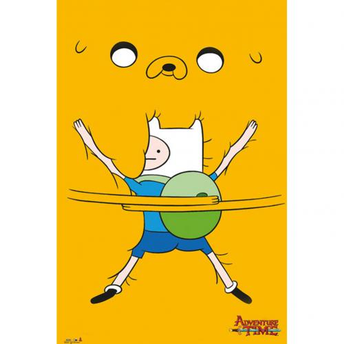 Poster Adventure Time Bro Hug 272