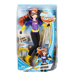 Mattel DLT64 - Dc Super Hero Girls - Action Doll 30 Cm Batgirl