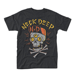 Neck Deep - Skulls (T-SHIRT Unisex )