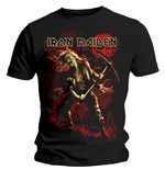 T-shirt Iron Maiden Benjamin Breeg Red Graphic