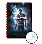 Uncharted 4 - Cover (Quaderno A5)