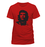 Che Guevara - Red Face (T-SHIRT Unisex TG. 2)