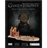 Game Of Thrones - 3D Puzzle - King's Landing