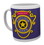 Resident Evil - Racoon Police (Tazza)