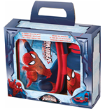 Spider-Man - Set Porta Merenda E Borraccia 440 Ml