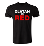 T-shirt Zlatan Ibrahimovic Zlatan is Red