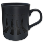 Beatles (The) - Boxed Black Matt Mug: Abbey Road Crossing (Tazza)