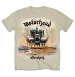 Motorhead - Aftershock White (T-SHIRT Unisex )