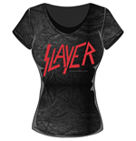 Slayer - Classic Logo (T-SHIRT Donna )