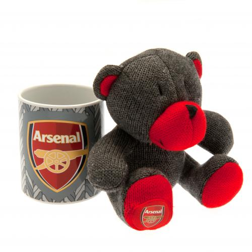 Tazza con Peluche Arsenal