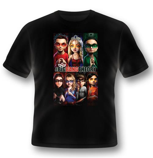 T-shirt The Big Bang Theory Superhero