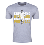 T-shirt Real Madrid (Grigio)