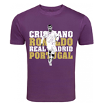 T-shirt Real Madrid (Viola)