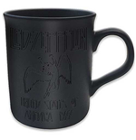 Led Zeppelin - Boxed Black Matt Mug: 77 Tour (Tazza)