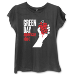 T-shirt Green Day American Idiot da donna