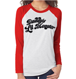 Suicide Squad - Daddys Little Monster (baseball Shirt Unisex )