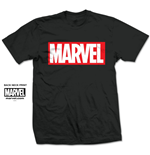 T-shirt Marvel Superheroes Marvel Box Logo