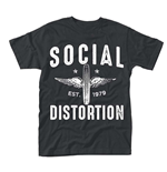 Social Distortion - Winged Wheel (T-SHIRT Unisex )