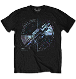 Pink Floyd - Machine Greeting Blue Special Edition Black (T-SHIRT Unisex )