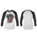 Gas Monkey Garage - Usa Monkey Logo (maglia Manica Lunga Unisex )