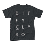 Biffy Clyro - Blocks Logo (T-SHIRT Unisex )