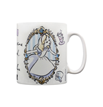 Alice In Wonderland (Frame) (Tazza)