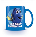 Finding Dory (Just Keep Swimming) Blue Mug (Tazza)