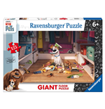 Ravensburger 09785 - Puzzle Da Pavimento Giant 125 Pz - Secret Life Of Pets