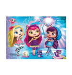 Ravensburger 05497 - Puzzle Da Pavimento 24 Pz - Little Charmers - Magic Star