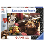 Ravensburger 05483 - Puzzle Da Pavimento 24 Pz - Secret Life Of Pets