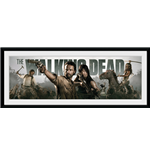 Foto In Cornice The Walking Dead - Survival - 76x30 Cm