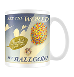 Disney Pixar (Up See The World By Balloon) (Tazza)