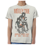 Motley Crue - World Tour Vintage (T-SHIRT Unisex )