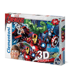 Puzzle 104 Pz - 3D - Avengers - United Against A Common Threat