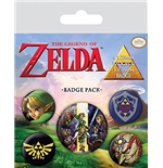 The Legend Of Zelda (Badge Pack)