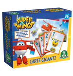Super Wings - Carte Giganti Double-Face