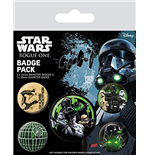 Star Wars Rogue One - Empire (Pin Badge Pack)