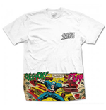 Marvel Comics - Captain America Comic Strip Pocket (T-SHIRT Unisex )