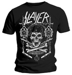 T-shirt Slayer Skull & Bones Revised