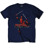 T-shirt Marvel Superheroes Deadpool Logo Jump