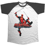 T-shirt Marvel Superheroes Logo Jump