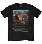 T-shirt The Beatles Sgt Pepper 8 Track